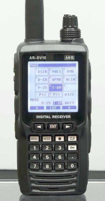 Skaner częstotliwości radiowych