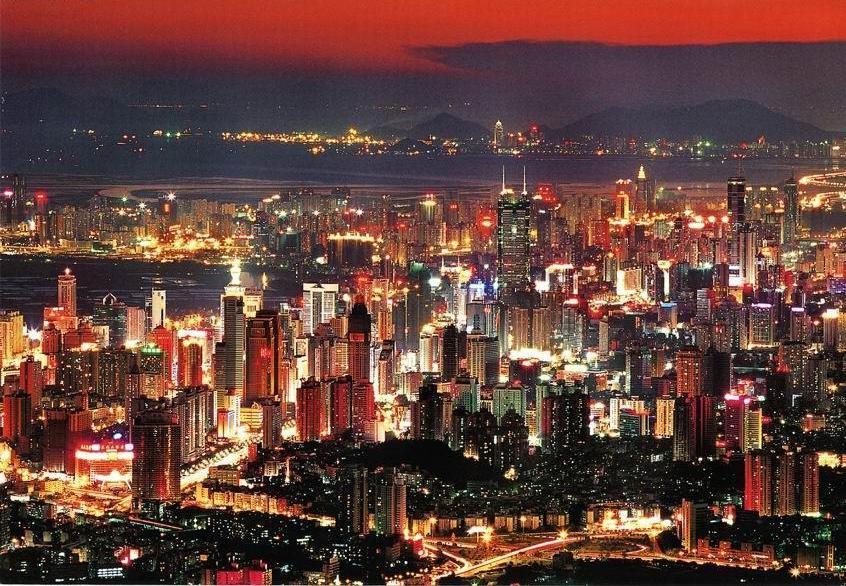 Aglomeracja Shenzen - chińska dolina krzemowa