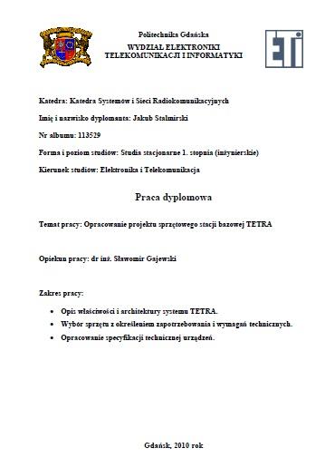 Opracowanie_projektu_sprzetowego_stacji_bazowej_TETRA-Jakub_Stalimirski