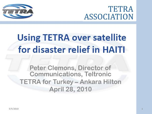 Using-TETRA-over-satellite-in-Haiti-Peter-Clemons-Teltronic