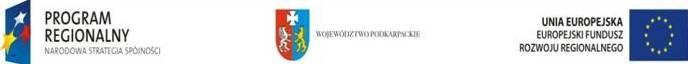 Program Poprawa jakości usług w Porcie Lotniczym Rzeszów - Jasionka poprzez doposażenie w sprzęt oraz systemy obsługi lotniskowej i pasażera Funduszu Rozwoju Regionalnego