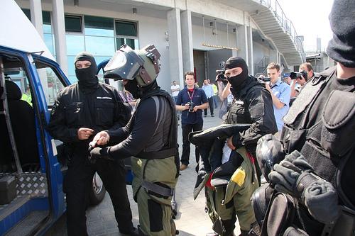 Ergo Arena - ćwiczenia ewakuacyjne podczas konfrencji