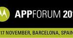 Motorola APPForum2011 w Barcelonie