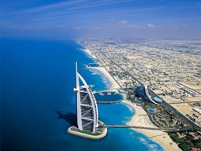 Hotel Burj Al Arab w Dubaju Zjednoczone Emiraty Arabskie