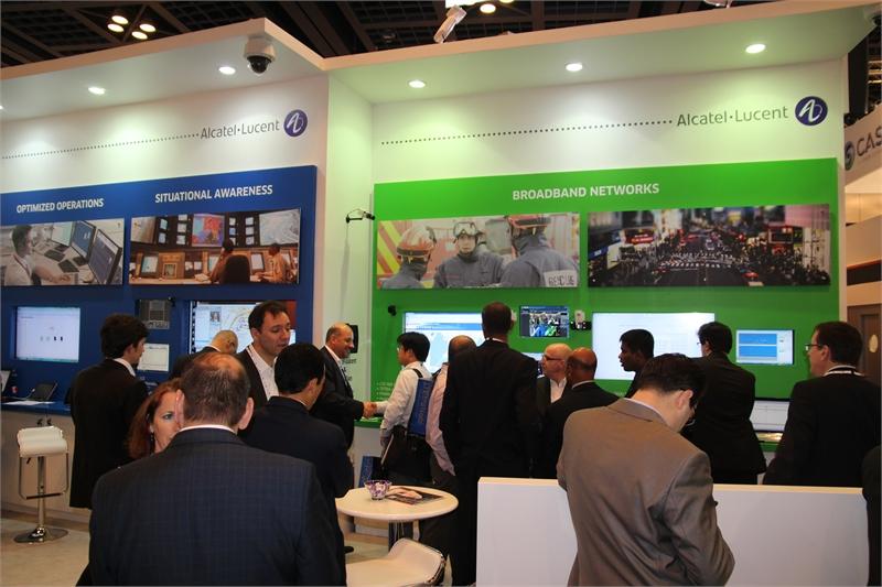 Alcatel-Lucent prezentuje systemy szybkiej transmisji danych dla służb