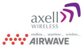 Logo Axell Wireless i Airwave