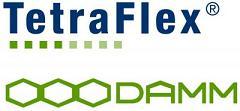 Logo DAMM Tetraflex