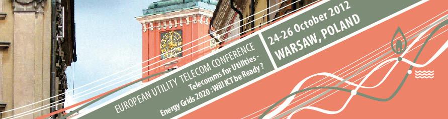 Baner konferencji EUTC-2012 w Warszawie