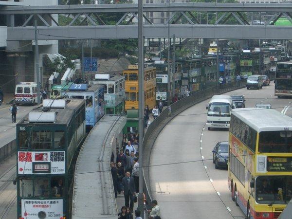 Tramwaje w Hongkongu