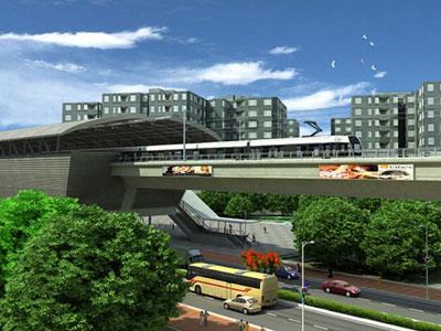 Metro w Hyderabad