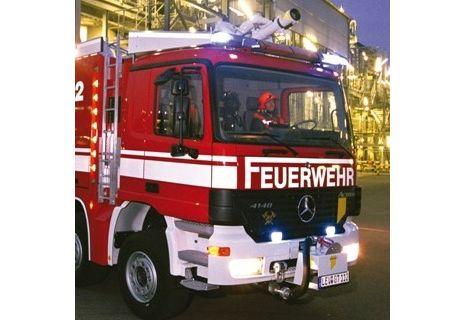 Wóz niemieckiej straży pożarnej