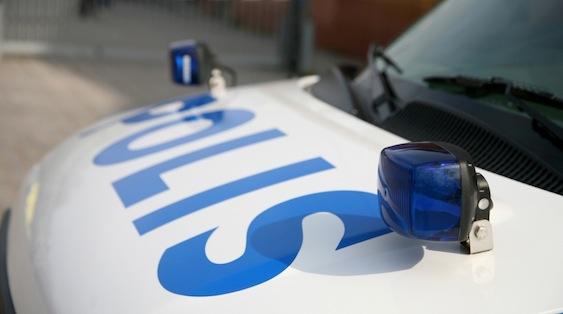 Radiowóz szwedzkiej policji
