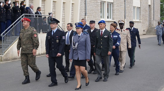 Policjanci podczas CNEFG