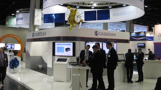 PMRExpo-2012-cassidian-satcom-demo