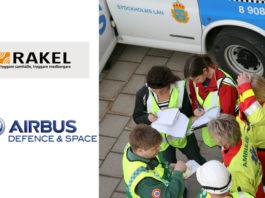 Airbus Defence and Space wybrany do pilotażowych testów bezpiecznej sieci danych dla Rakel w Szwecji