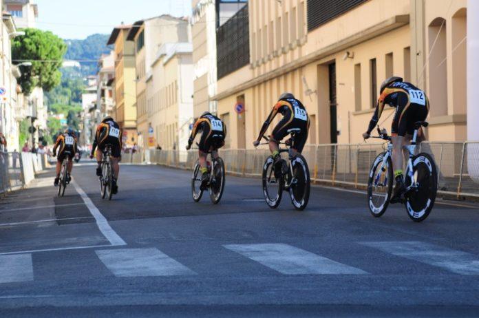 Wyścig podczas mistrzostw świata w kolarstwie, Florencja 2013