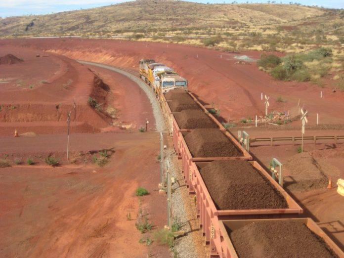 Transport rudy żelaza w Australii
