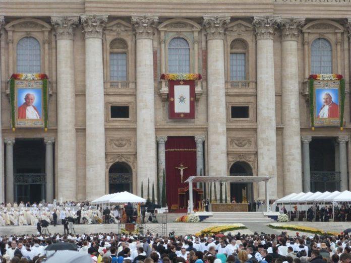 Msza kanonizacyjna Jana XXIII i Jana Pawła II