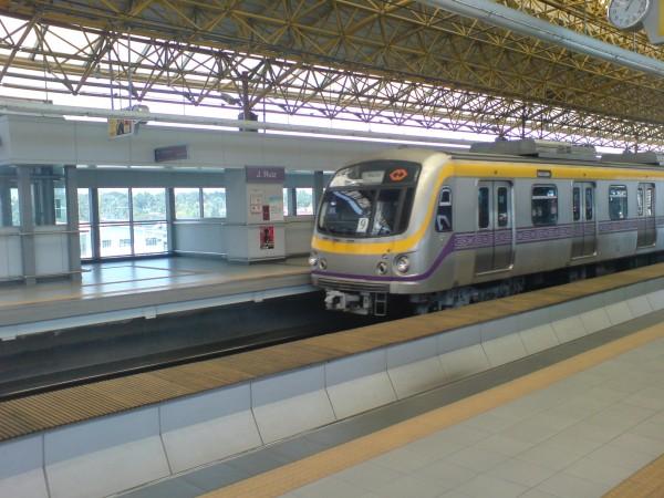 Stacja J. Ruiz na drugiej linii metra w Manili
