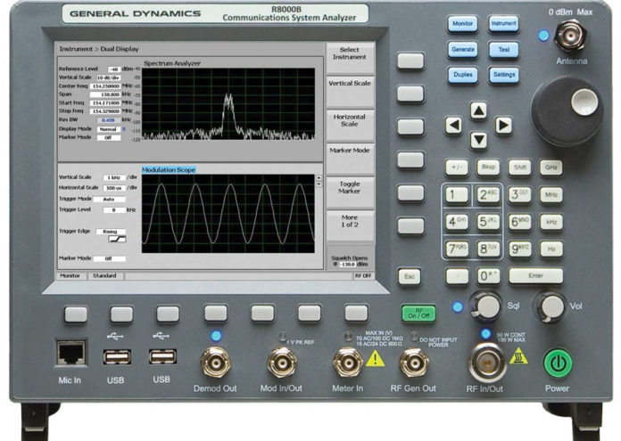 R8000B Tester radiokomunikacyjny TETRA DMR dPMR NXDN Digimes