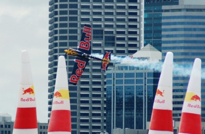 Kirby Chambliss podczas Red Bull Air-Race