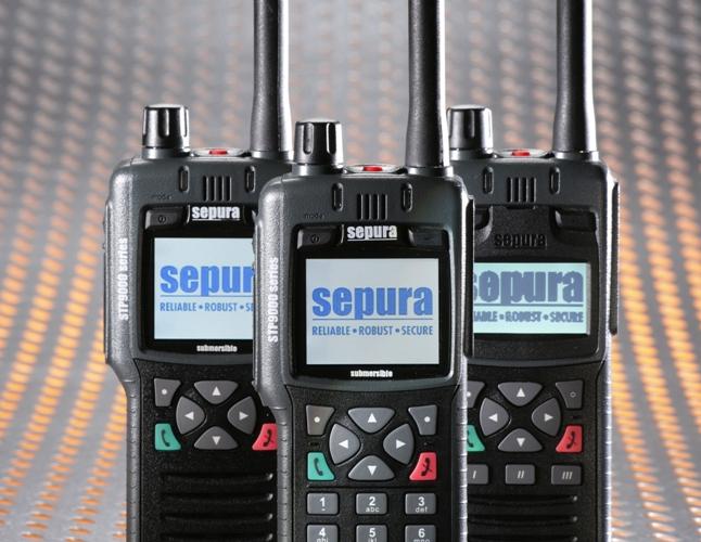 Radiotelefony Sepura STP9000