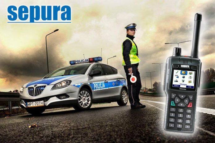 kontrola-drogowa-policja-radiotelefon-tetra-sepura