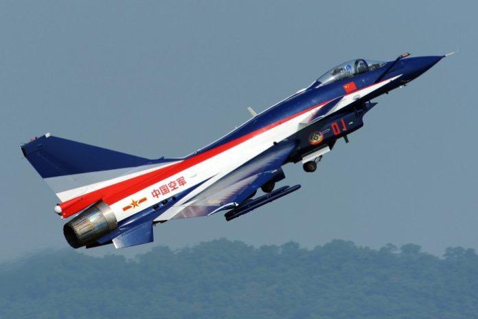 Chiński myśliwiec wielozadaniowy Chengdu J-10
