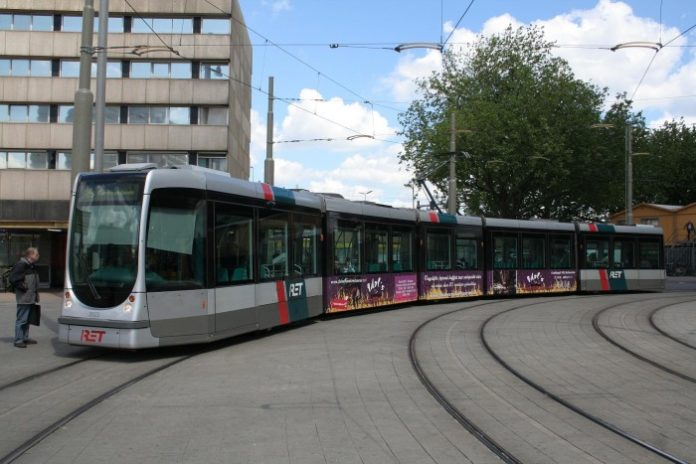 Tramwaj RET w Rotterdamie