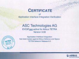 Rozwiązanie rejestracji łączności TETRA firmy ASC