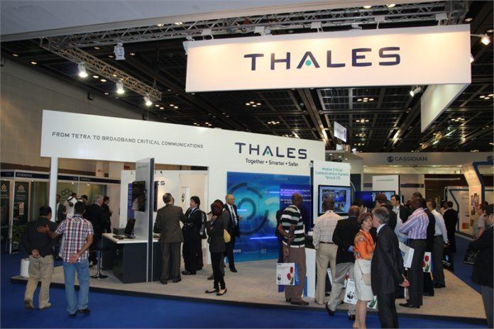 Stoisko firmy Thales na TWC 2012