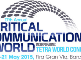 Critical Communications World 2015 - zapowiedź