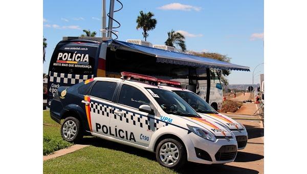Samochody brazylijskiej żandarmerii wojskowej