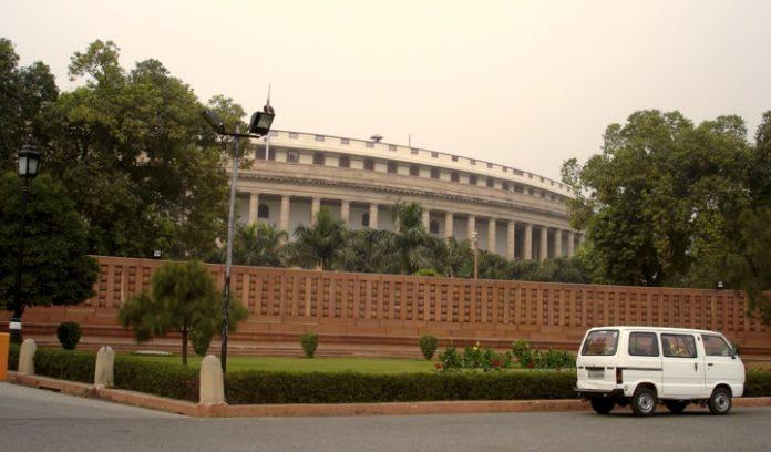 Indyjski parlament w New Delhi