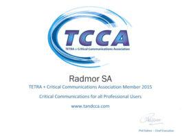 RADMOR dołączył do TCCA