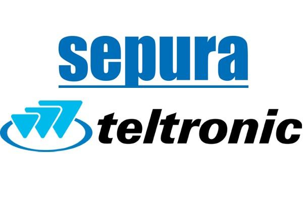 Logotypy Sepura i Teltronic