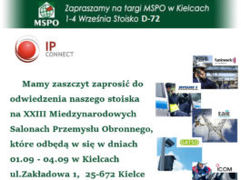 IP Connect zaprasza na MSPO 2015