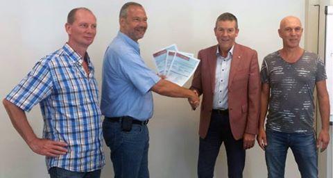 Hytera-TETRA-C2000 certyfikat pracy w sieci TETRA