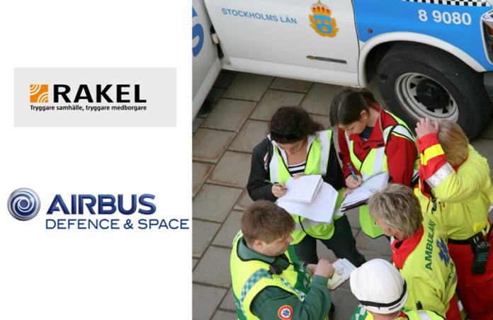 Logo RAKEL i Airbus