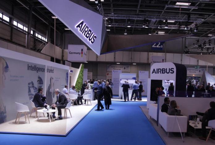 stoisko Airbus CCW2018 Berlin