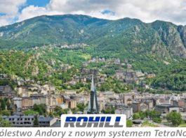 Rohill zmoderniuzje sieć TETRA w Andorze