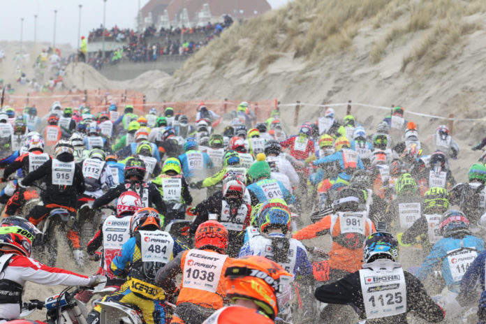 Motocross-Enduropale-race