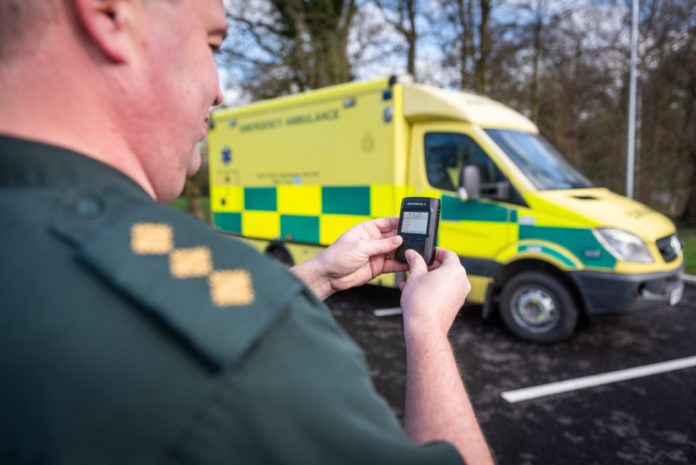 Motorola-Solutions_TETRA Pager_TPG2200-North-West-Ambulance-Services
