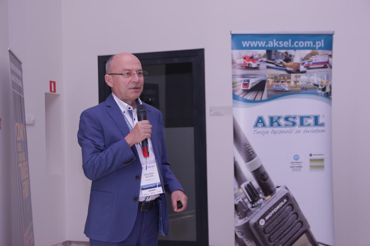 Stanisław Słowik - Prezes AKSEL Podczas konferencji KKRRiT 2019 we Wrocławiu