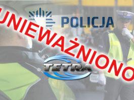 """Policja oficjalnie unieważniła projekt """"TETRA 13 miast"""""""