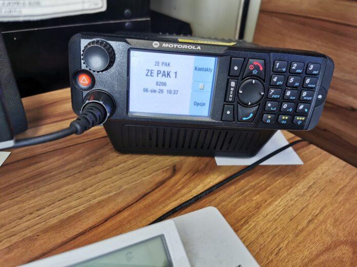 Energa radiotelefon TETRA Motorola