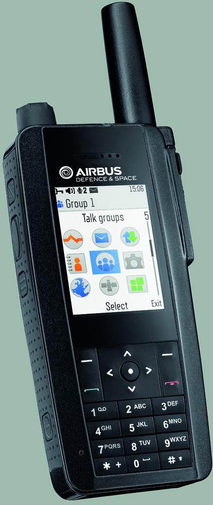 Radiotelefon Airbus TH1n