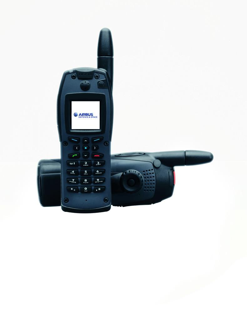 THR880i radiotelefon ręczny TETRA firmy Airbus (wcześniej Cassidian)
