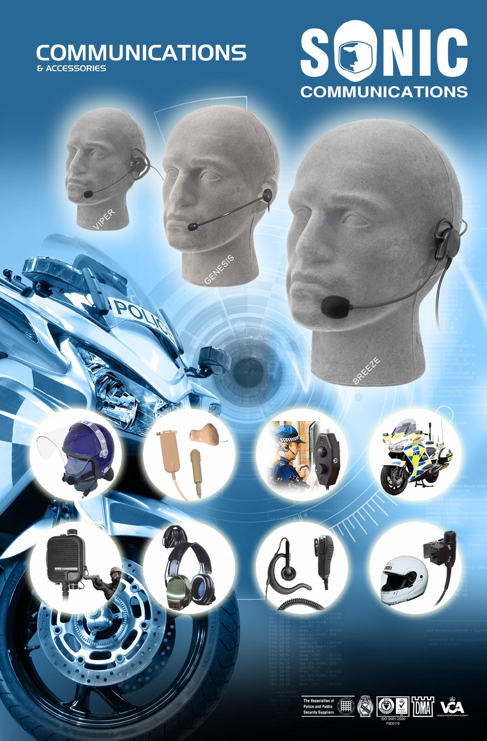 Portfolio produktów Sonic Communications Ltd.