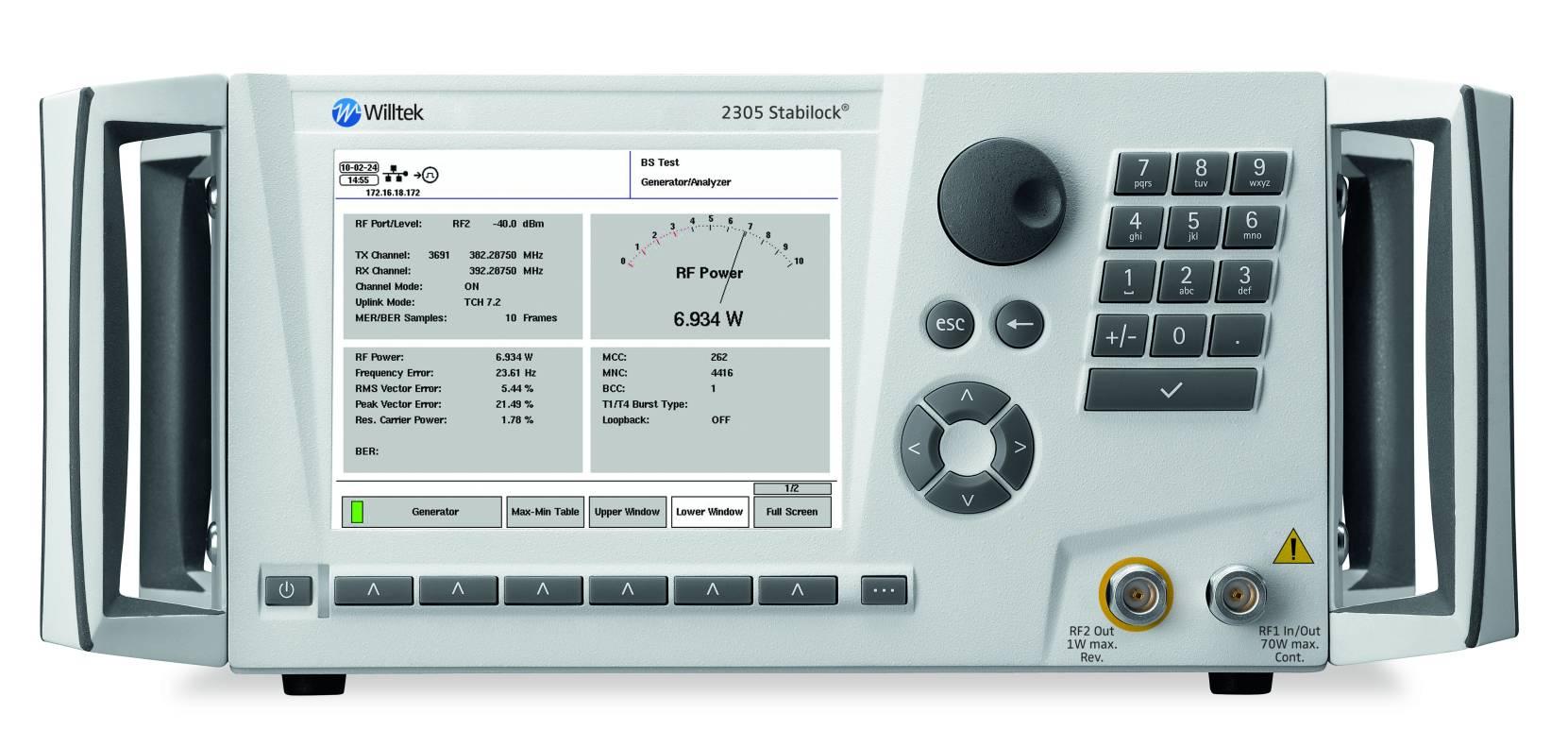 Aeroflex-Willtek-Stabilock-2305-TETRA-tester